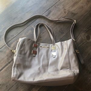 Steve Madden Tote Purse Taupe
